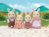 Sylvanian Families Milk Rabbit -perhe