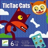 Djeco TicTac cats -strategiapeli UUTUUS