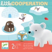 Djeco Little cooperation peli taaperoille