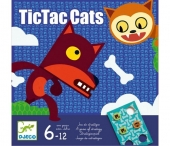 Djeco TicTac cats -strategiapeli